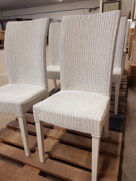 Finition chaises